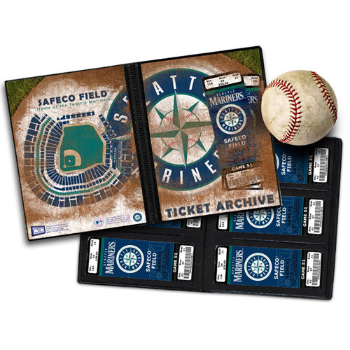 That's My Ticket - Major League Baseball Collection - Ticket Album - Seattle Mariners