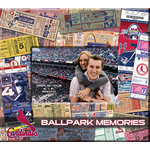 That's My Ticket - Major League Baseball Collection - 8 x 8 Postbound Scrapbook and Photo Album - St Louis Cardinals