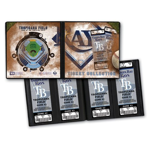 That's My Ticket - Major League Baseball Collection - Ticket Album - Tampa Bay Rays