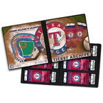 That's My Ticket - Major League Baseball Collection - 8 x 8 Ticket Album - Texas Rangers