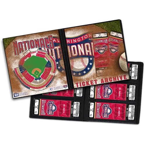 That's My Ticket - Major League Baseball Collection - 8 x 8 Ticket Album - Washington Nationals