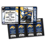 That's My Ticket - National Hockey League Collection - 8 x 8 Ticket Album - Buffalo Sabres