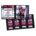 That's My Ticket - National Hockey League Collection - Ticket Album - Colorado Avalanche