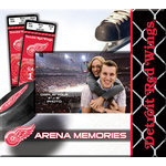 That's My Scrapbook - National Hockey League Collection - 8 x 8 Postbound Scrapbook and Photo Album - Detroit Red Wings