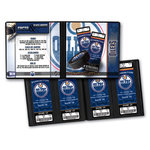 That's My Ticket - National Hockey League Collection - Ticket Album - Edmonton Oilers