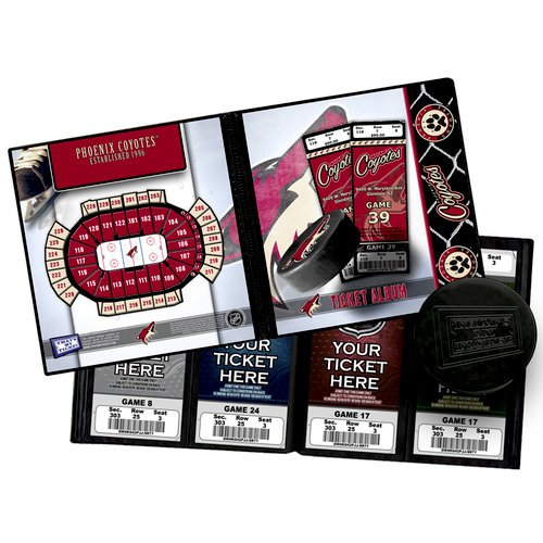 That's My Ticket - National Hockey League Collection - Ticket Album - Phoenix Coyotes