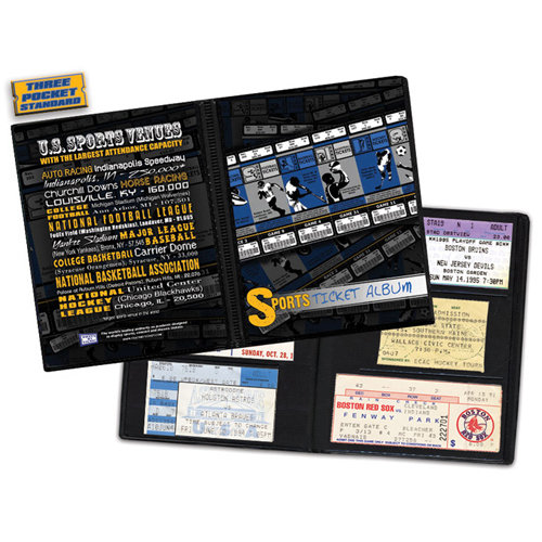 That's My Ticket - 8 x 8 Ticket Album - Sports