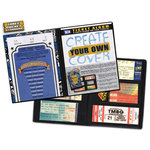 That's My Ticket - 8 x 8 Ticket Album - Create Your Own Cover