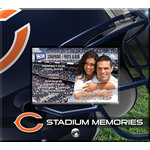 That's My Ticket - National Football League Collection - 8 x 8 Postbound Scrapbook and Photo Album - Chicago Bears