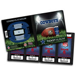 That's My Ticket - National Football League Collection - Ticket Album - Dallas Cowboys