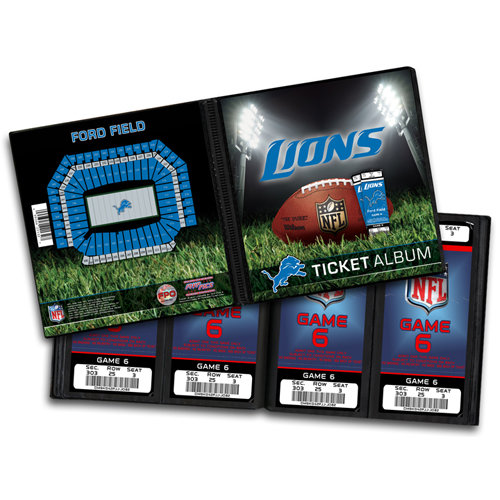 That's My Ticket - National Football League Collection - Ticket Album - Detroit Lions