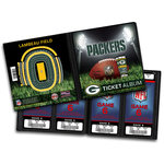 That's My Ticket - National Football League Collection - 8 x 8 Ticket Album - Green Bay Packers