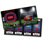 That's My Ticket - National Football League Collection - Ticket Album - Houston Texans