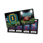 That's My Ticket - National Football League Collection - 8 x 8 Ticket Album - Jacksonville Jaguars