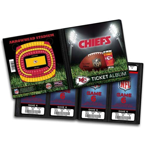 That's My Ticket - National Football League Collection - Ticket Album - Kansas City Chiefs