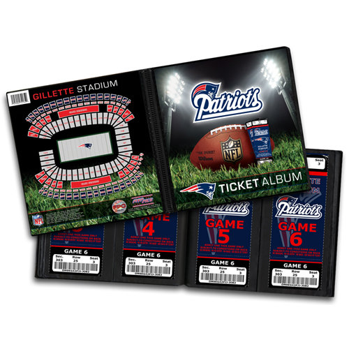 That's My Ticket - National Football League Collection - Ticket Album - New England Patriots