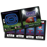 That's My Ticket - National Football League Collection - Ticket Album - New York Giants