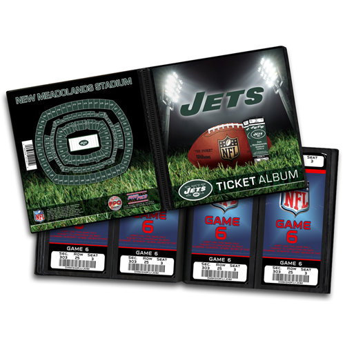 That's My Ticket - National Football League Collection - Ticket Album - New York Jets
