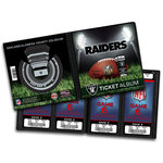 That's My Ticket - National Football League Collection - Ticket Album - Oakland Raiders