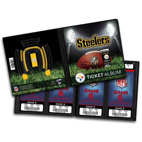 That's My Ticket - National Football League Collection - Ticket Album - Pittsburgh Steelers