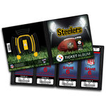That's My Ticket - National Football League Collection - 8 x 8 Ticket Album - Pittsburgh Steelers