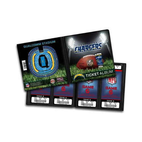 That's My Ticket - National Football League Collection - Ticket Album - San Diego Chargers