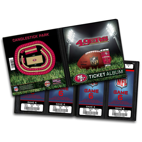 That's My Ticket - National Football League Collection - Ticket Album - San Francisco 49ers
