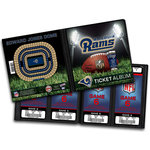 That's My Ticket - National Football League Collection - 8 x 8 Ticket Album - St. Louis Rams