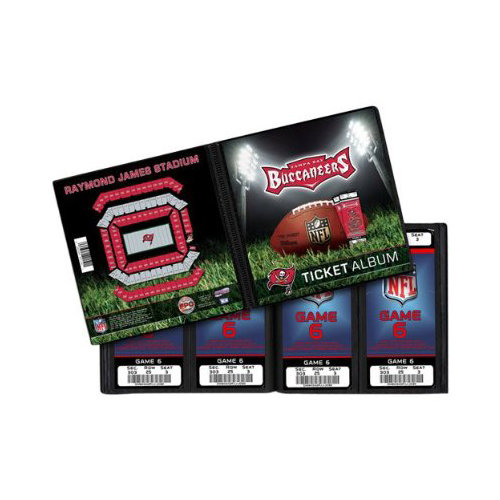 That's My Ticket - National Football League Collection - Ticket Album - Tampa Bay Buccaneers