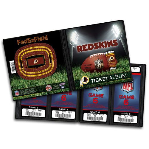 That's My Ticket - National Football League Collection - Ticket Album - Washington Redskins