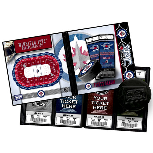 That's My Ticket - National Hockey League Collection - Ticket Album - Winnipeg Jets