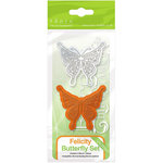 Tonic Studios - Rococo Dies and Stamp Set - Butterfly Felicity