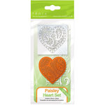 Tonic Studios - Rococo Dies and Stamp Set - Paisley Heart