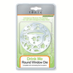 Tonic Studios - Indulgence Round Dies - Drink Me Tea Cup