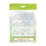 Tonic Studios - Metal Dies - Garden Terrace Header Folder Die Set