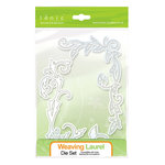 Tonic Studios - Metal Dies - Wavering Laurel Floral Flourish Frame
