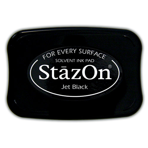 Staz On Ink Pads - Jet Black