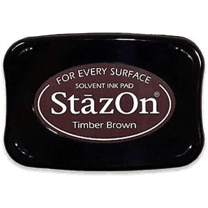 Staz On Ink Pads - Timber Brown