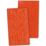 Ten Seconds Studio - Kabuka Collection - Decorative Embossing Mold - Baroque and Roses