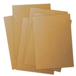 Ten Seconds Studio - 9 x 12 Thin Metal Sheets for Dry Embossing - 25 Pack - Dijon, CLEARANCE