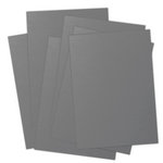 Ten Seconds Studio - 9 x 12 Thin Metal Sheets for Dry Embossing - 25 Pack - Slate