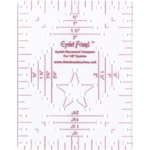 "Eyelet Friend 1/8"" Template"