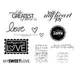 Technique Tuesday - Clear Acrylic Stamps - Love Ali by Ali Edwards