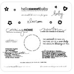 Technique Tuesday - Clear Acrylic Stamps - Sweet Baby by Ali Edwards