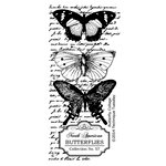 Technique Tuesday - Clear Acrylic Stamps - Butterfly Collage