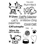Technique Tuesday - Clear Acrylic Stamps - Cat's Meow