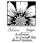 Technique Tuesday - Clear Acrylic Stamps - Dreamy Daisy
