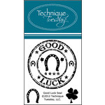 Technique Tuesday - Clear Acrylic Stamps - Good Luck Seal