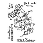 Technique Tuesday - Green House Studio Society - Clear Acrylic Stamps - Columbine