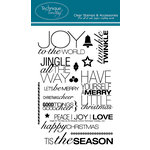 Technique Tuesday - Clear Acrylic Stamps - Christmas - Jingle All the Way by Ali Edwards